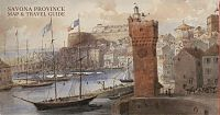 savona province map and guide