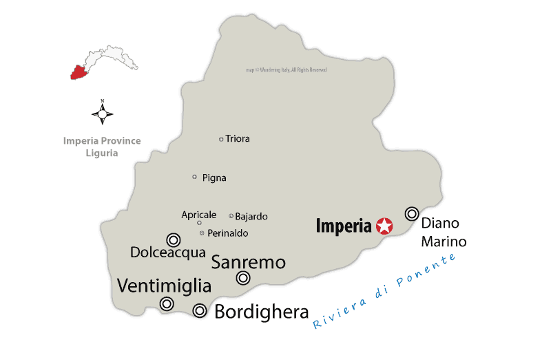 imperia province map