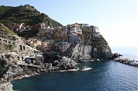 vernazza from coast trail