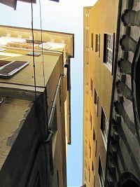 genoa, genova, old town, medieval alleys, renzo piano