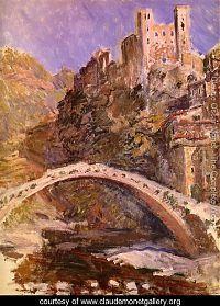 Claude Monet, Dolceacqua, castle, castello, Riviera, Liguria