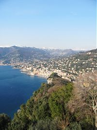 A sunny but cold day in Liguria