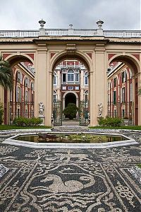 palazzo reale, genoa, italy picture