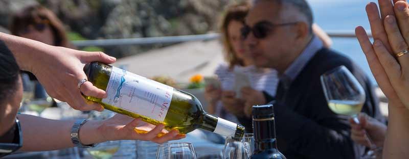 vino bianco white wine